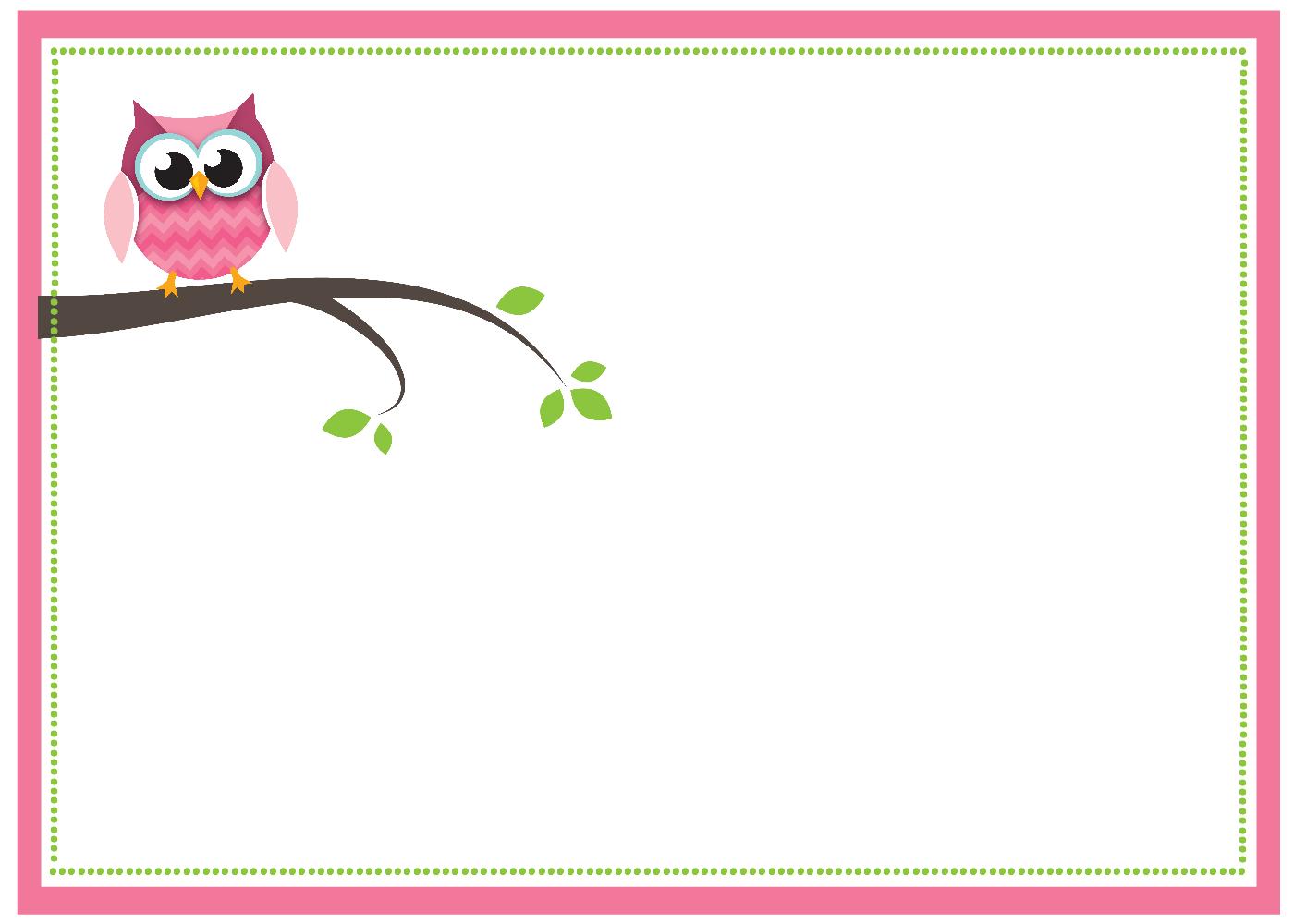 Free Printable Owl Baby Shower Invitations {& Other Printables} - Free Printable Blank Baby Shower Invitations
