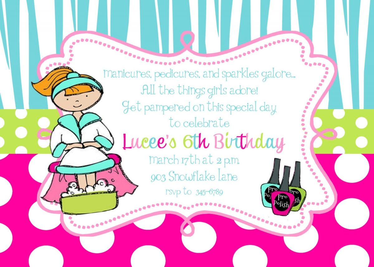 Free Printable Pamper Party Invitation Templates | Pamper Party In - Free Printable Spa Party Invitations Templates