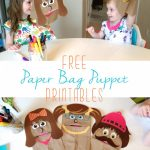 Free Printable Paper Bag Puppets – Free Printable Paper Bag Puppet Templates