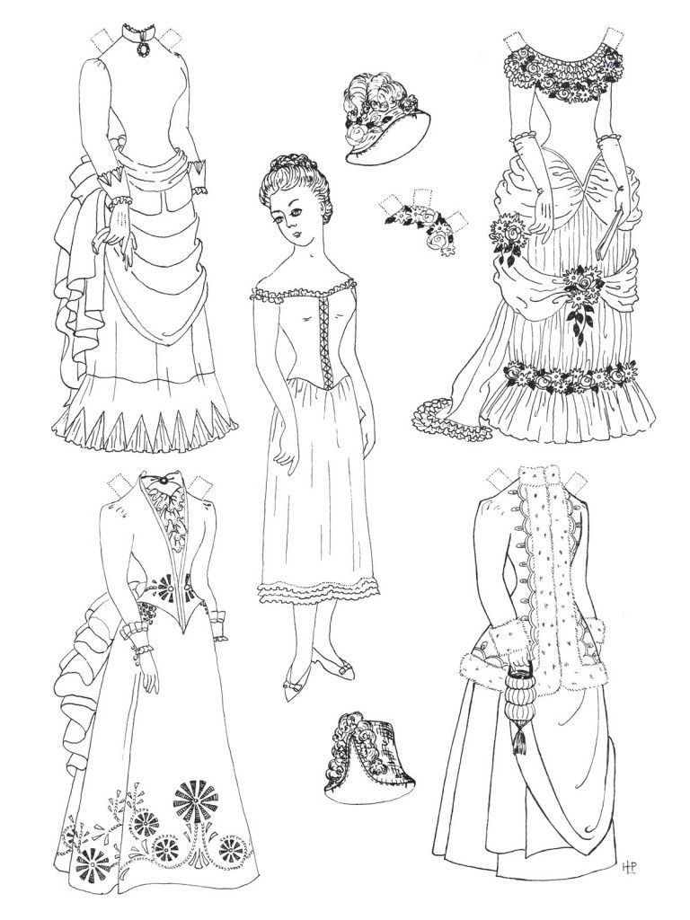 Free Printable Paper Doll Coloring Pages For Kids | Coloring - Free Printable Paper Dolls