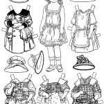 Free Printable Paper Doll Coloring Pages For Kids | Paper Dolls – Free Printable Paper Doll Coloring Pages