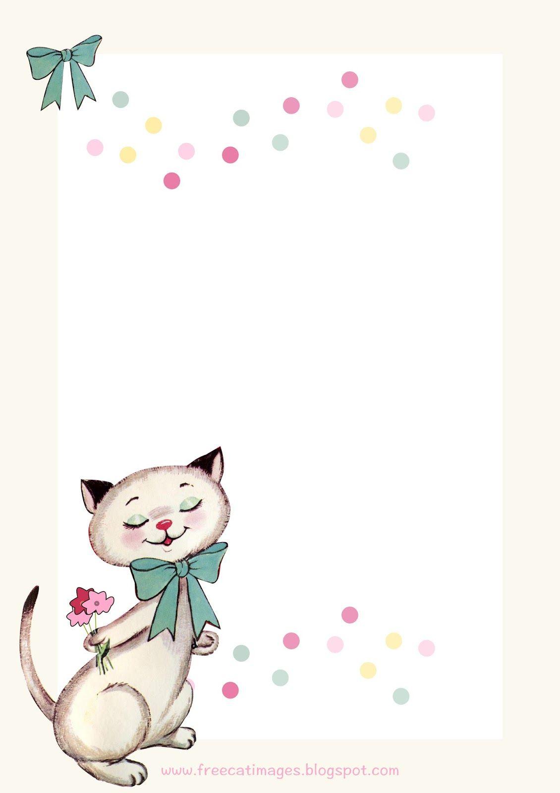 Free Printable Party Invitation | Cat Birthday Party - Free Printable Kitten Birthday Invitations