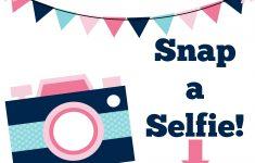 Selfie Station Free Printable