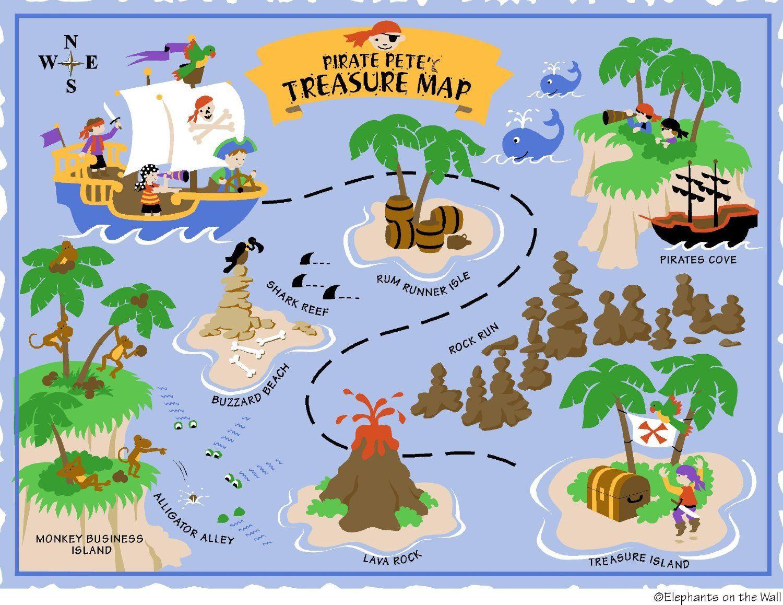 Free Printable Pirate Treasure Map - Google Search … | Pirate | Pirat… - Free Printable Pirate Maps