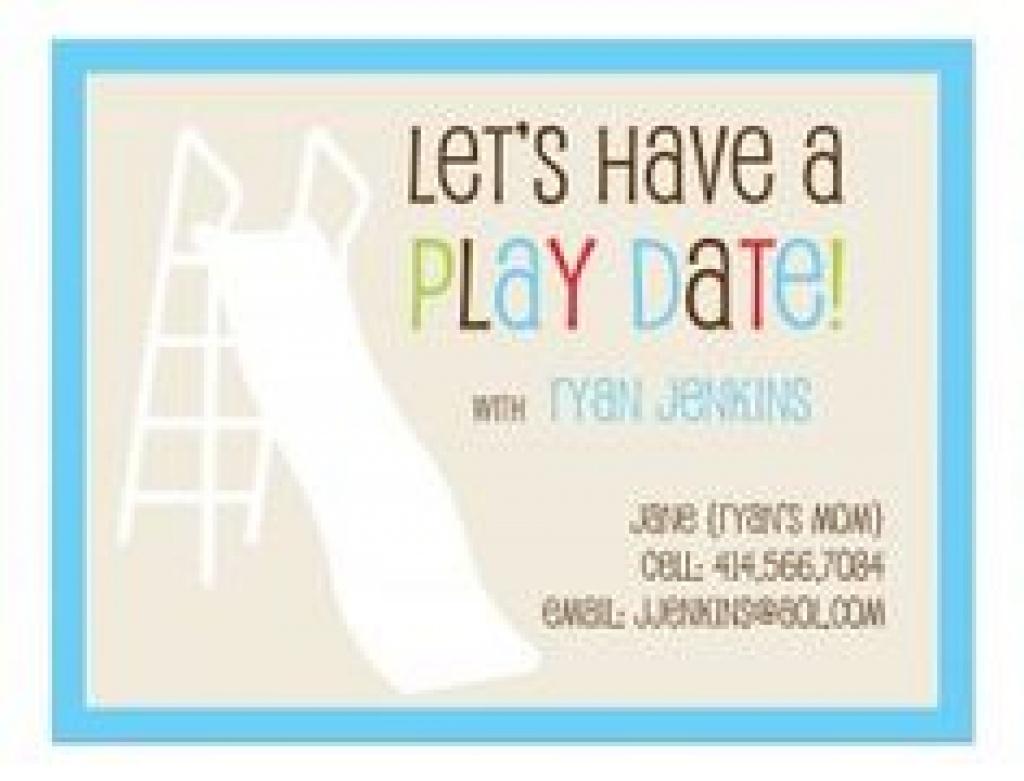 Free Printable Play Date Cards   Free Printable - Free Printable Play Date Cards