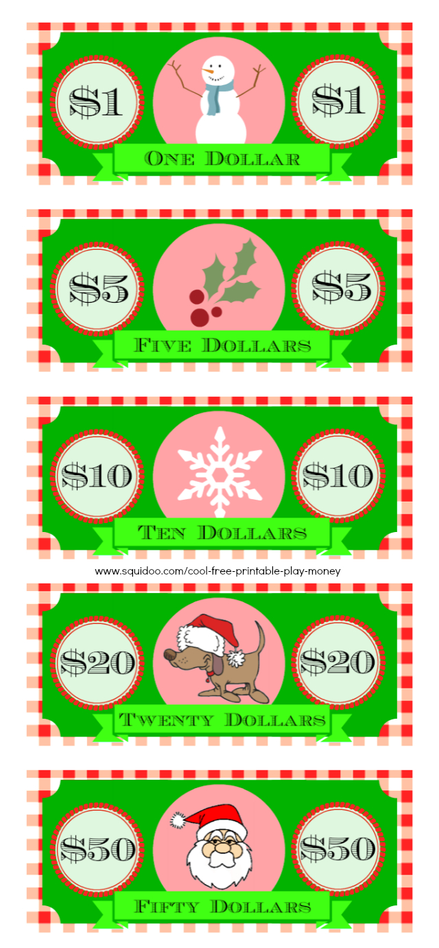 Free Printable Play Money Kids Will Love - Free Printable Fake Money That Looks Real