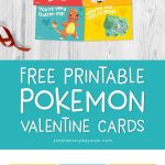 Free Printable Pokemon Valentines Cards Your Kids Will Be Begging For   Free Printable School Valentines Cards