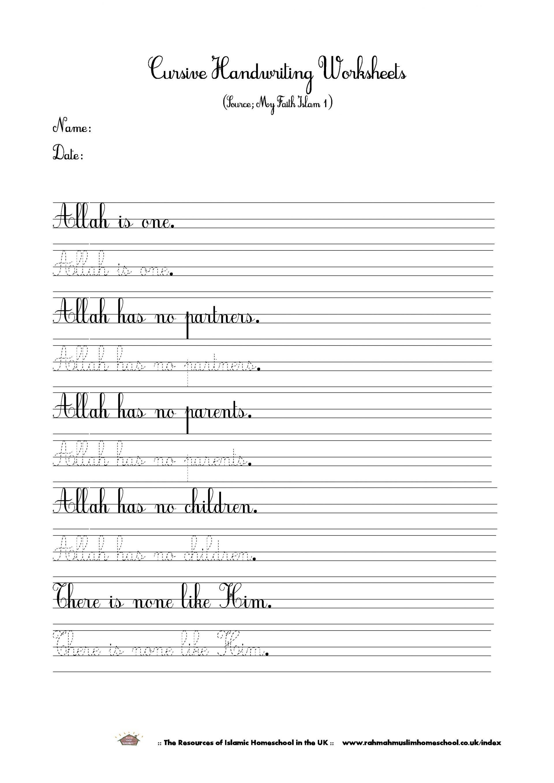 Free Printable Posters – Worksheet Template - Handwriting Without Tears Worksheets Free Printable