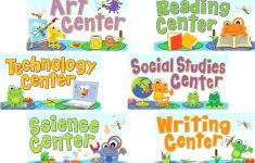 Free Printable Center Signs For Pre K