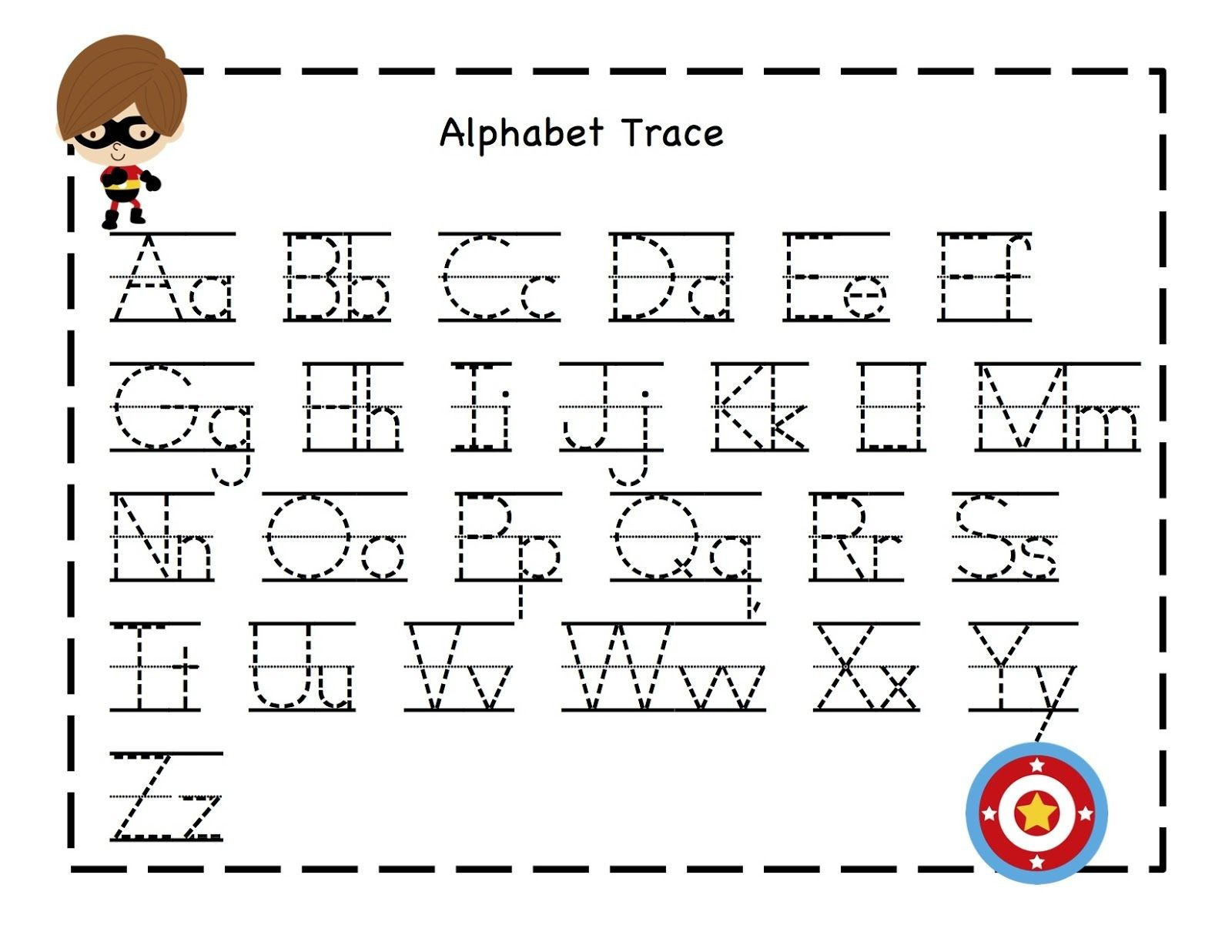 Free Printable Preschool Worksheets Tracing Letters – Worksheet Template - Free Printable Preschool Worksheets Tracing Letters