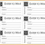 Free Printable Raffle Ticket Template Raffle Ticket Templates – Free Printable Raffle Tickets With Stubs