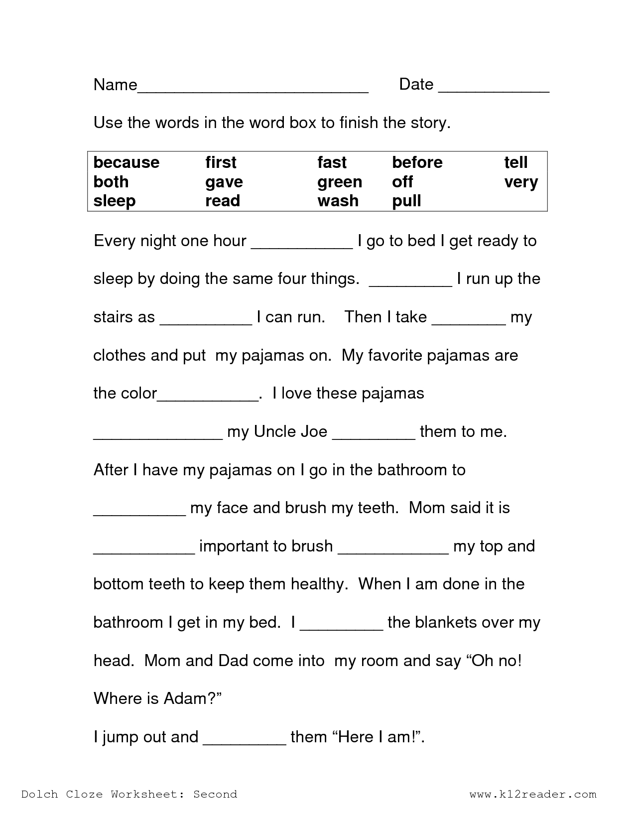 Free Printable Reading Comprehension Worksheets 3Rd Grade To Print - Third Grade Reading Worksheets Free Printable
