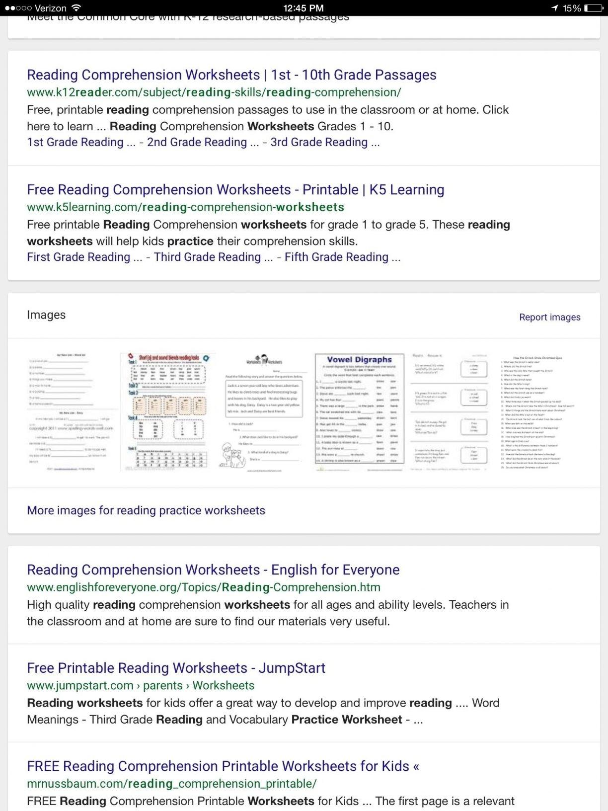 Free Printable Reading Comprehension Worksheets Grade 5 For 1 1224 - Free Printable Reading Comprehension Worksheets Grade 5