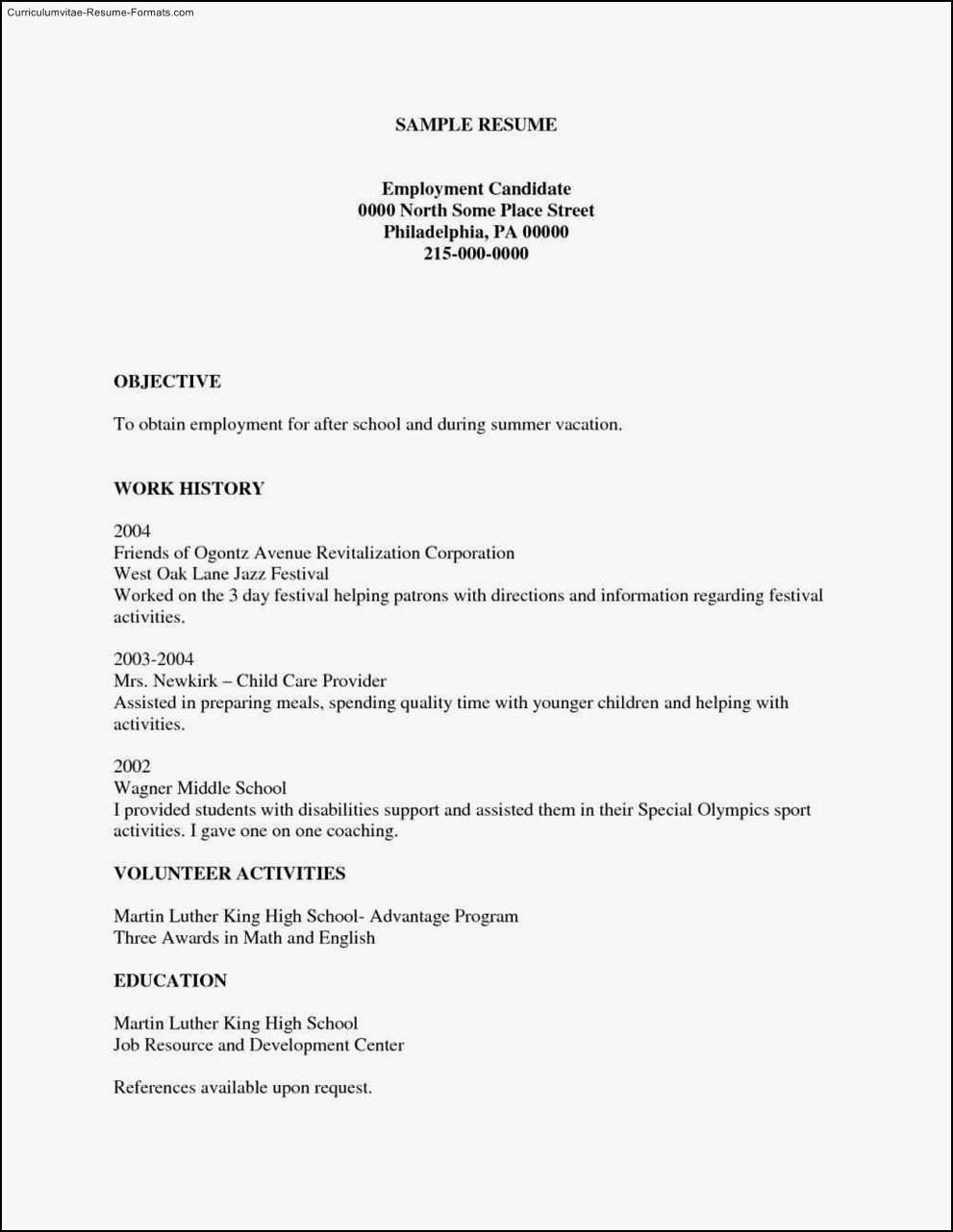 Free Printable Resume Templates     Business Template And Resources - Free Printable Resume Templates