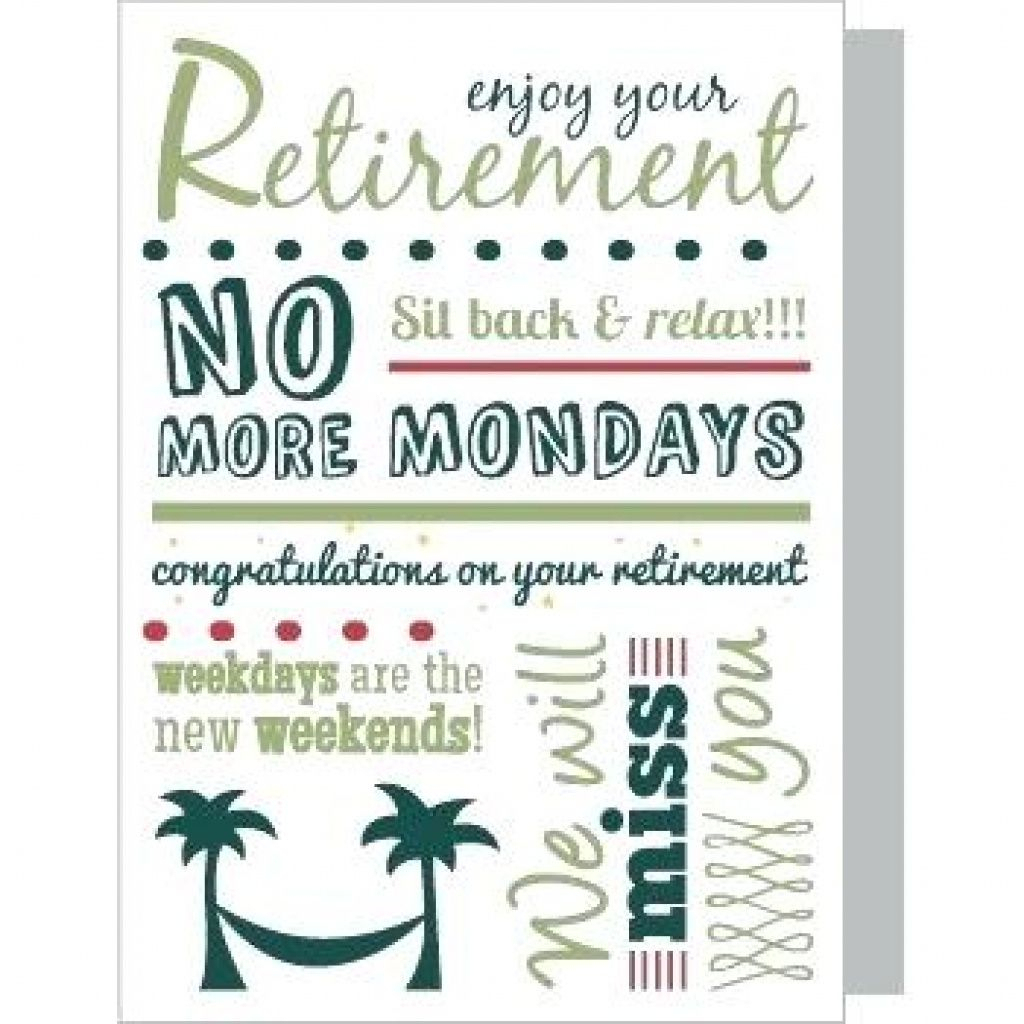 Free Printable Retirement Cards Free Printable - Free Printable Retirement Cards