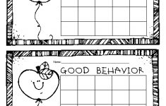 Free Printable Behavior Charts