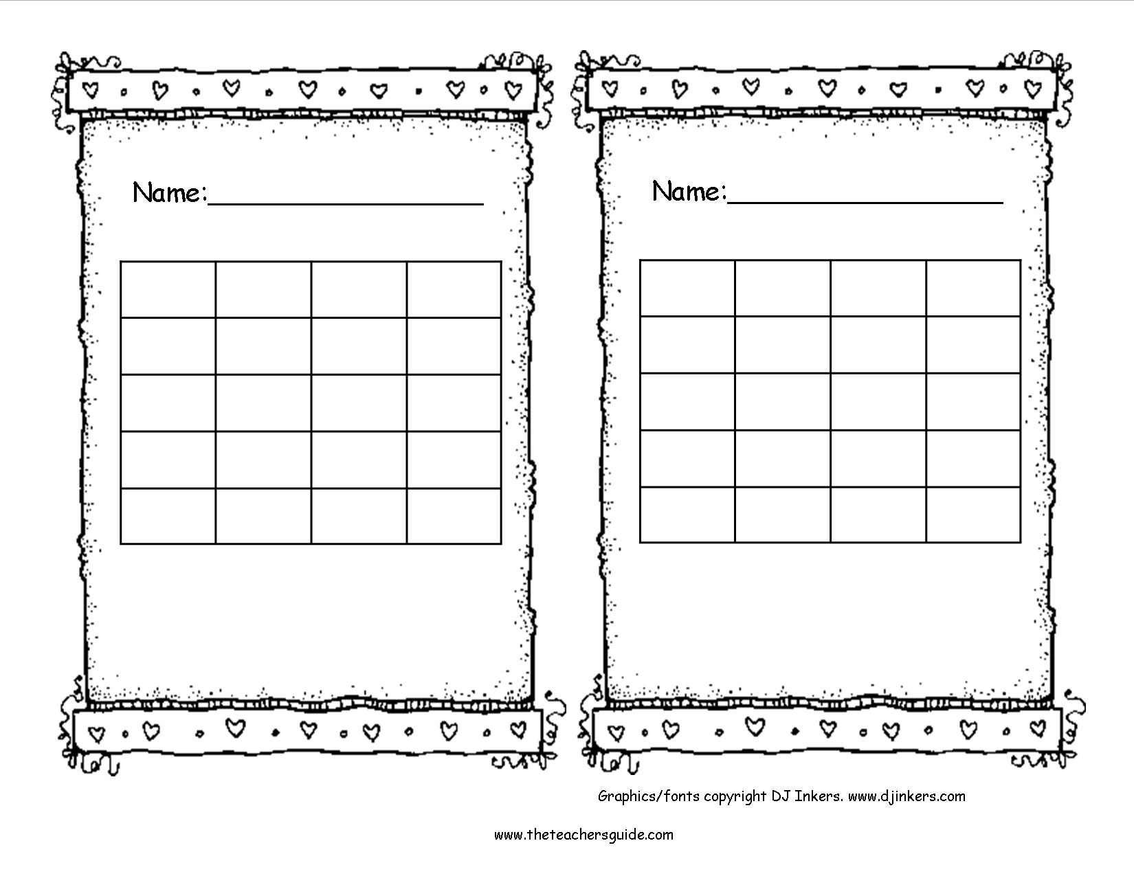 Free Printable Reward And Incentive Charts - Free Printable Incentive Charts For School