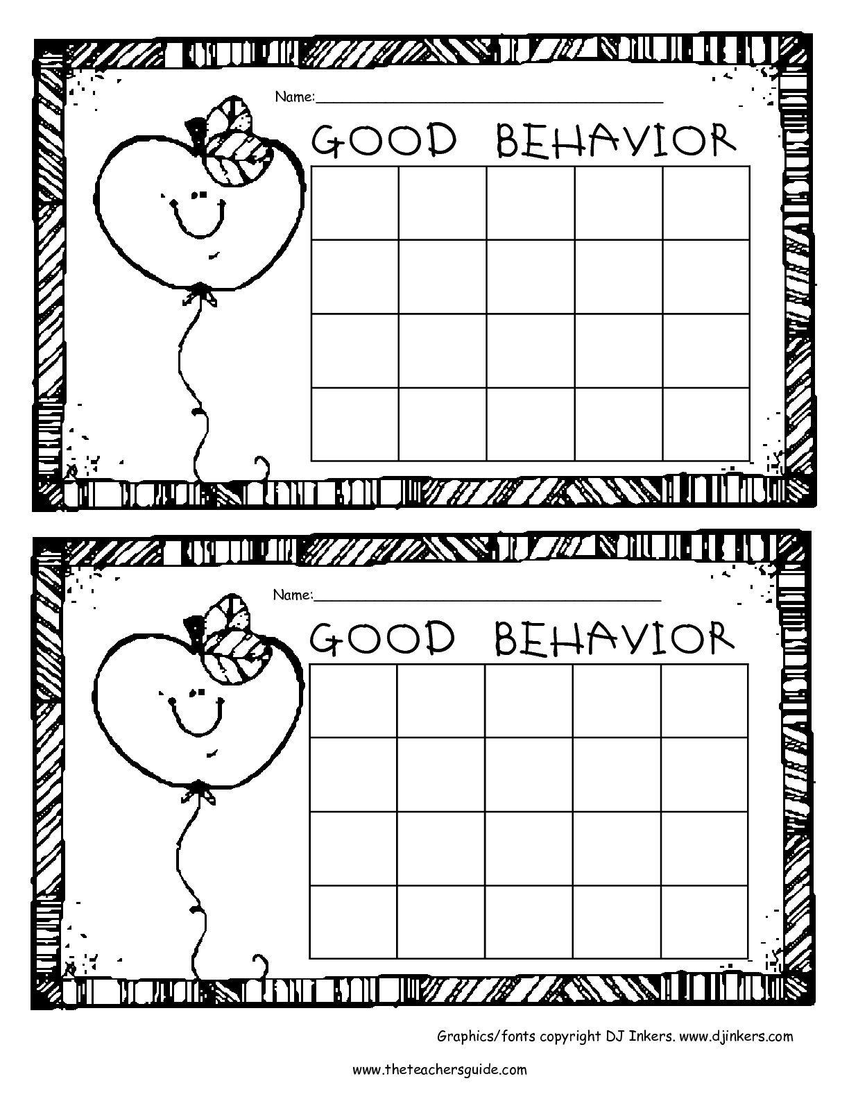 Free Printable Reward And Incentive Charts | Sticker Charts - Free Printable Charts For Classroom