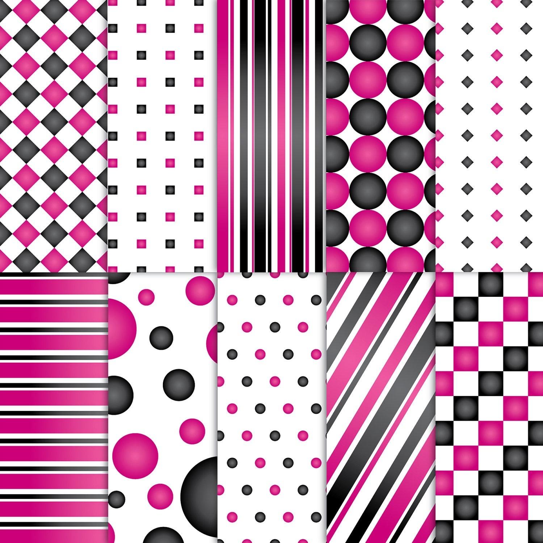 Free Printable Scrapbook Paper Designs Pink | Printable Menu And Chart - Free Printable Scrapbook Paper Designs