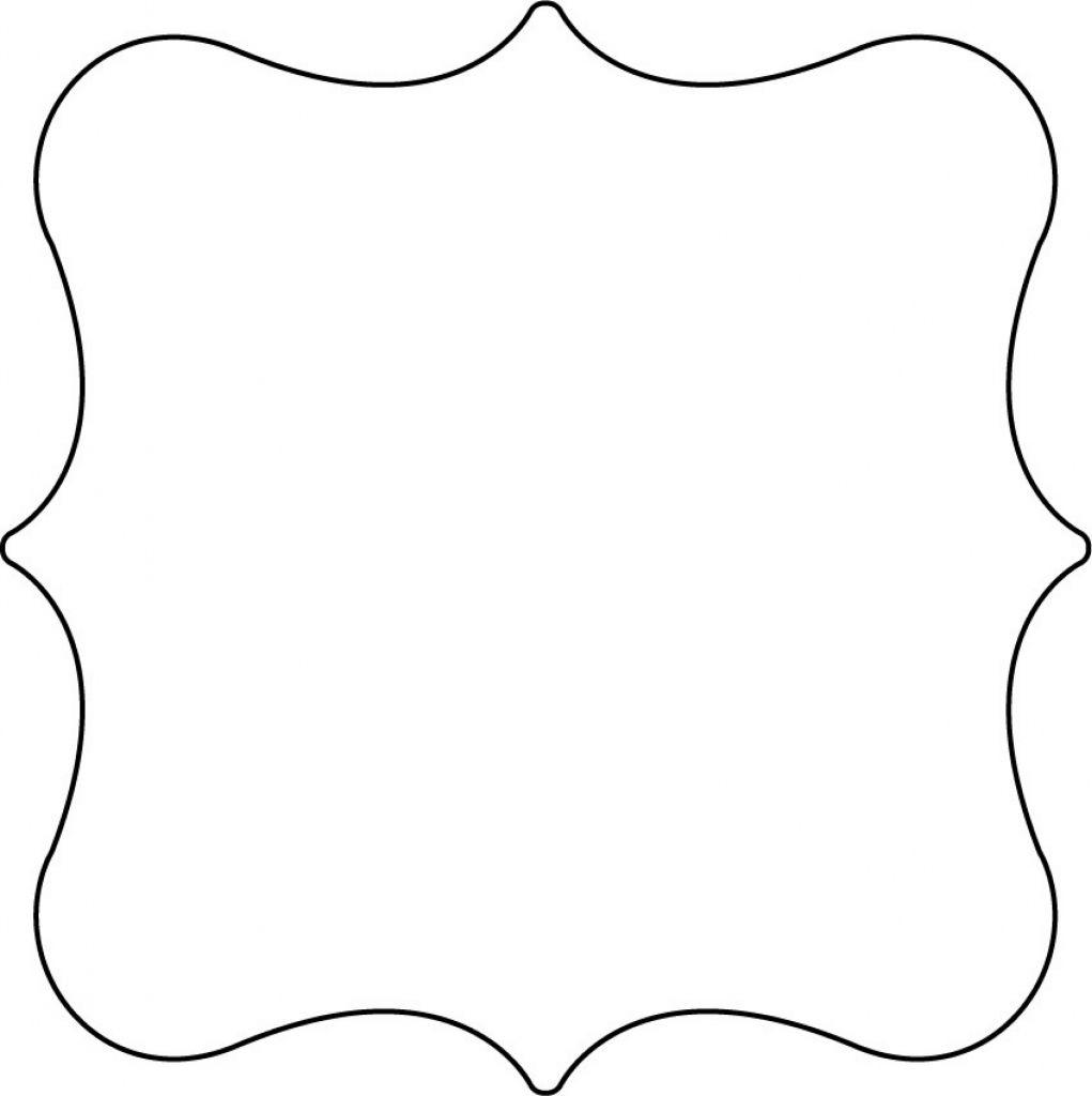 Free Printable Shape Templates | Invitations | Shape Templates - Free Printable Shapes Templates