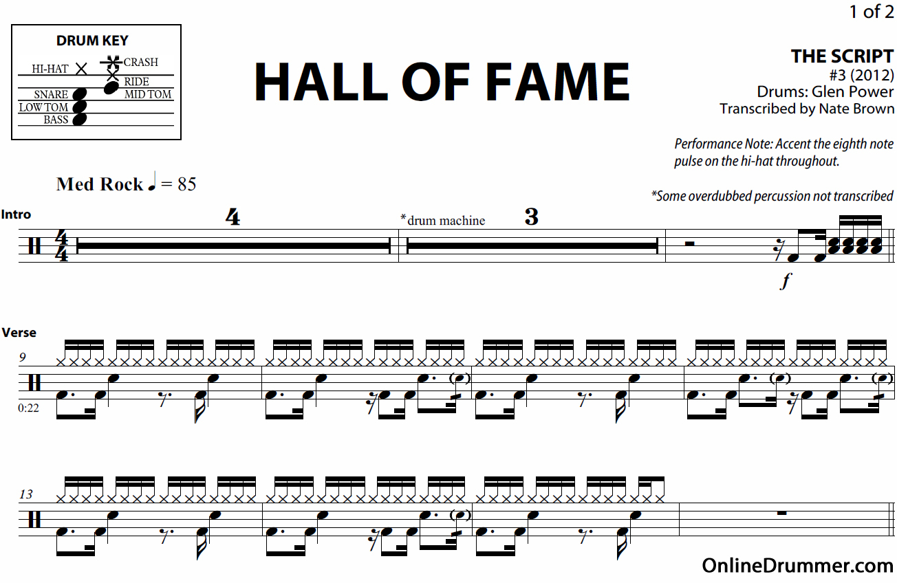 Free Printable Sheet Music For Drums | Download Them Or Print - Free Printable Drum Sheet Music