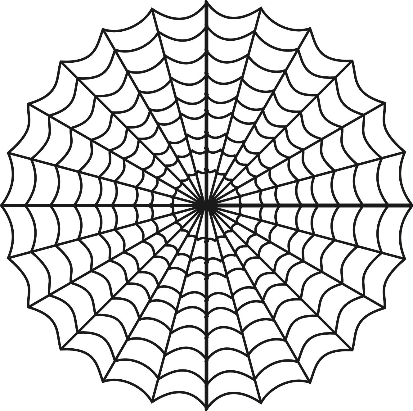 Free Printable Spider Web Coloring Pages For Kids Inside | Preschool - Free Printable Spider Web