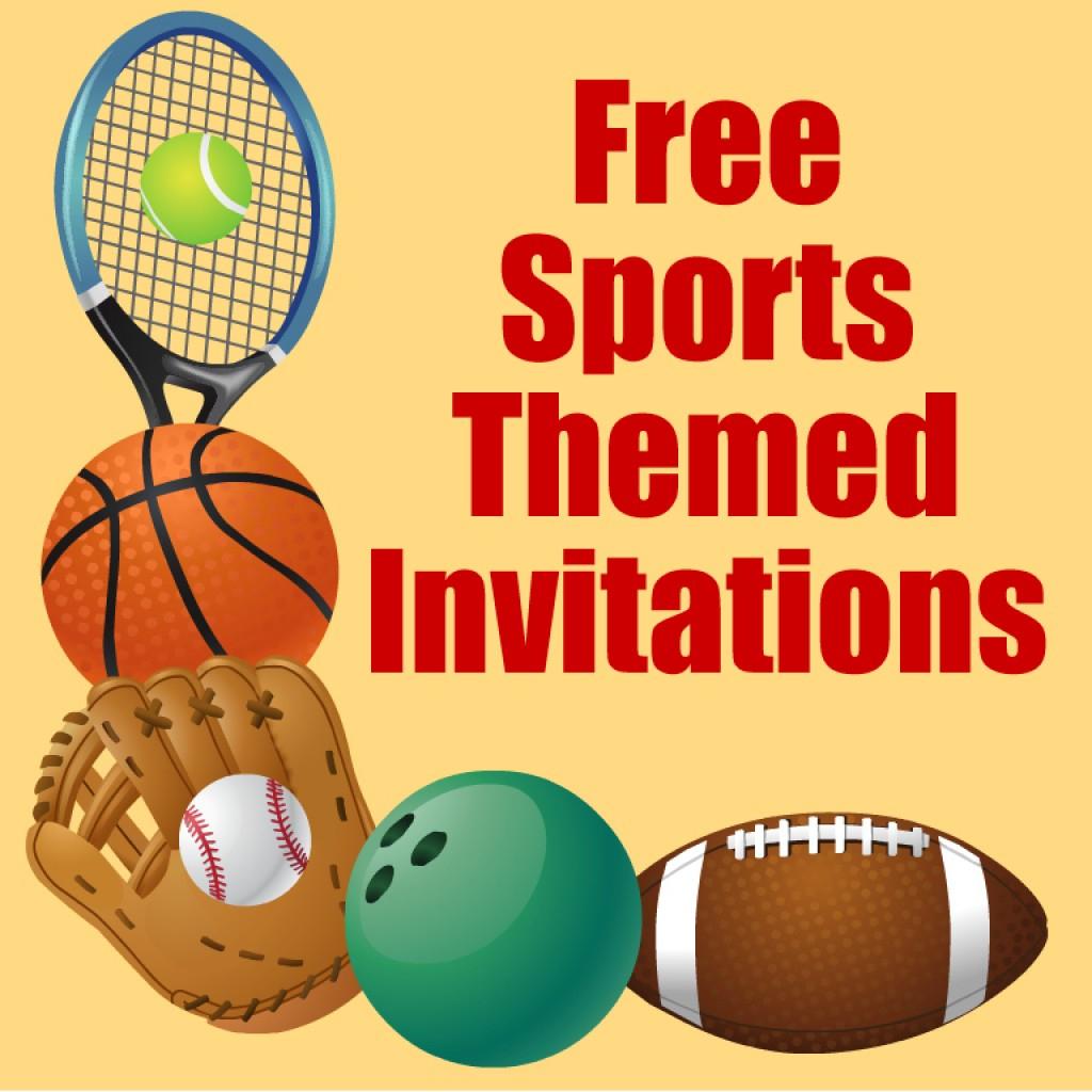 Free Printable Sports Birthday Party Invitations Templates   Hubpages - Free Printable Sports Birthday Invitation Templates