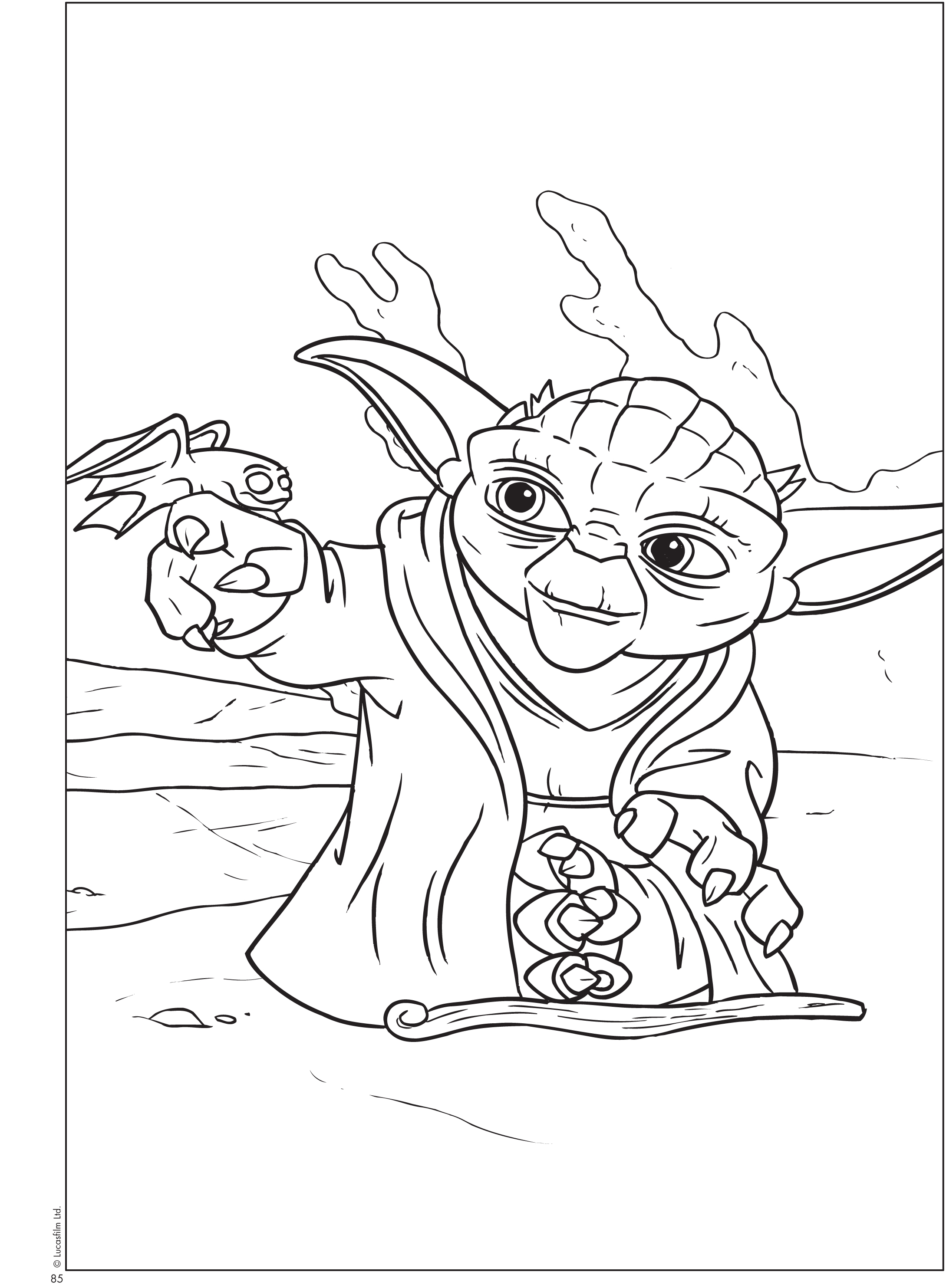Free Printable Star Wars® Coloring Sheets - Queen Of Free - Free Printable Star Wars Coloring Pages
