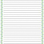 Free Printable Stationery For Kids Free Lined Kids Writing Paper – Free Printable Stationery