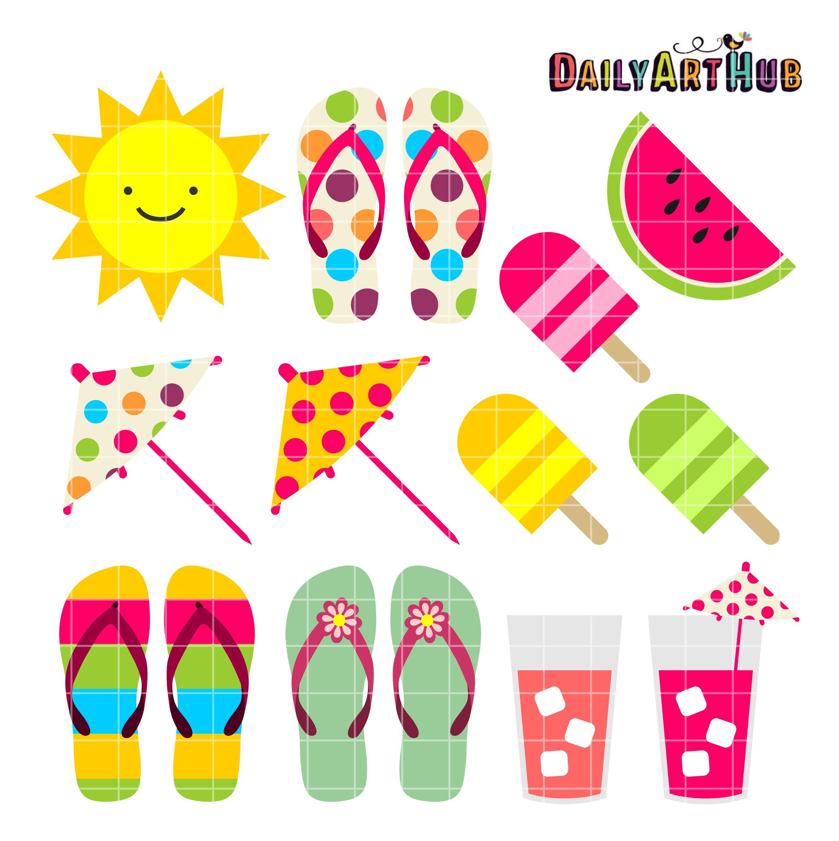 Free Printable Summer Clipart 4 » Clipart Portal - Free Printable Summer Clip Art