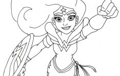Free Printable Super Hero High Coloring Page For Wonder Woman More – Free Printable Superhero Coloring Pages