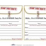 Free Printable Surprise Birthday Party Invitations Templates   Party   Free Printable Surprise 60Th Birthday Invitations