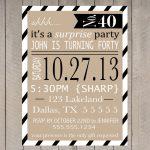 Free Printable Surprise Party Invitation Templates   Invitations   Free Printable Surprise 60Th Birthday Invitations