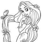 Free Printable Tangled Coloring Pages For Kids Cool2Bkids   Free Printable Tangled