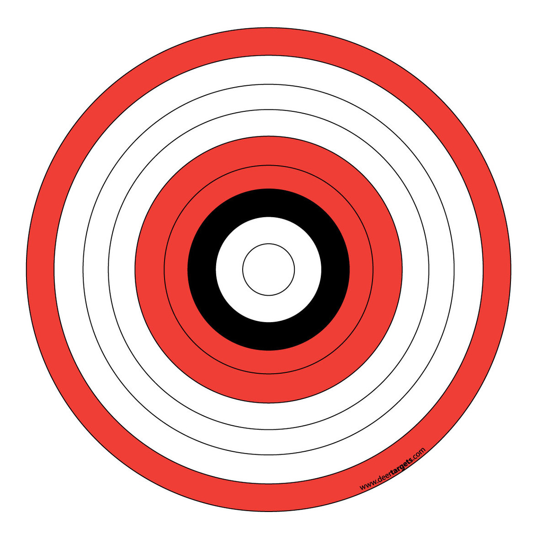 Free Printable Targets Thailand Airsoft Bbgun Clipart - Clip Art Library - Free Printable Targets