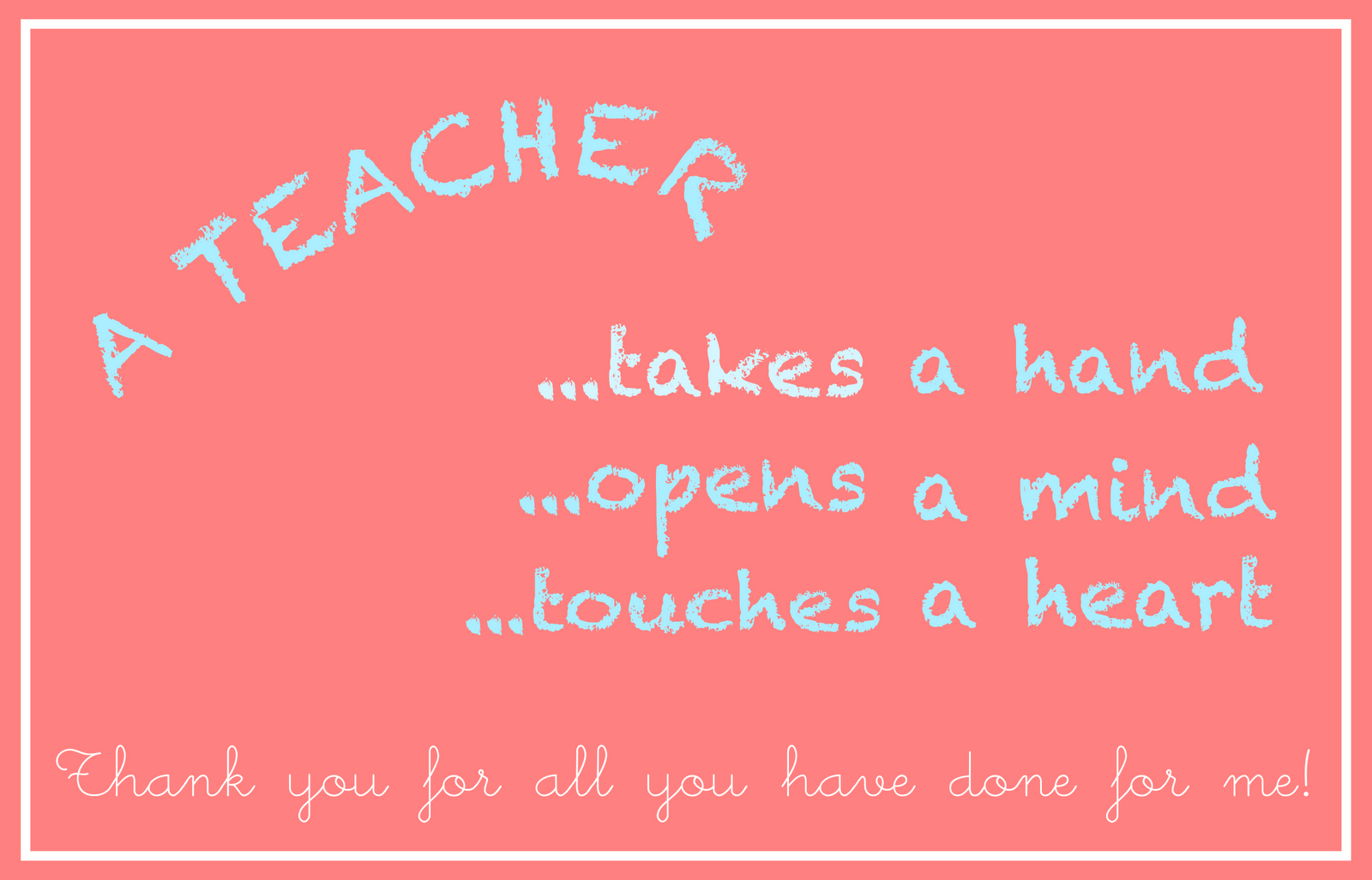 Free Printable Teacher Appreciation Card - An Lehrer Gerichtete - Free Printable Teacher Appreciation Cards