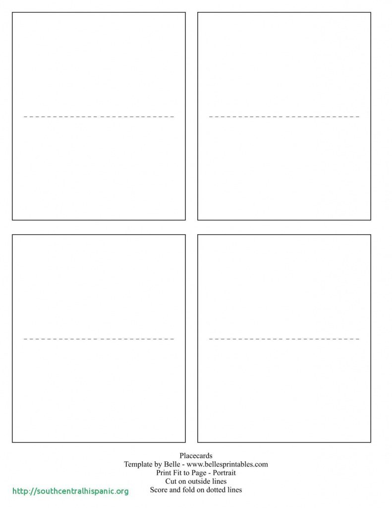 Free Printable Tent Cards Templates | Free Printable - Free Printable Tent Cards Templates