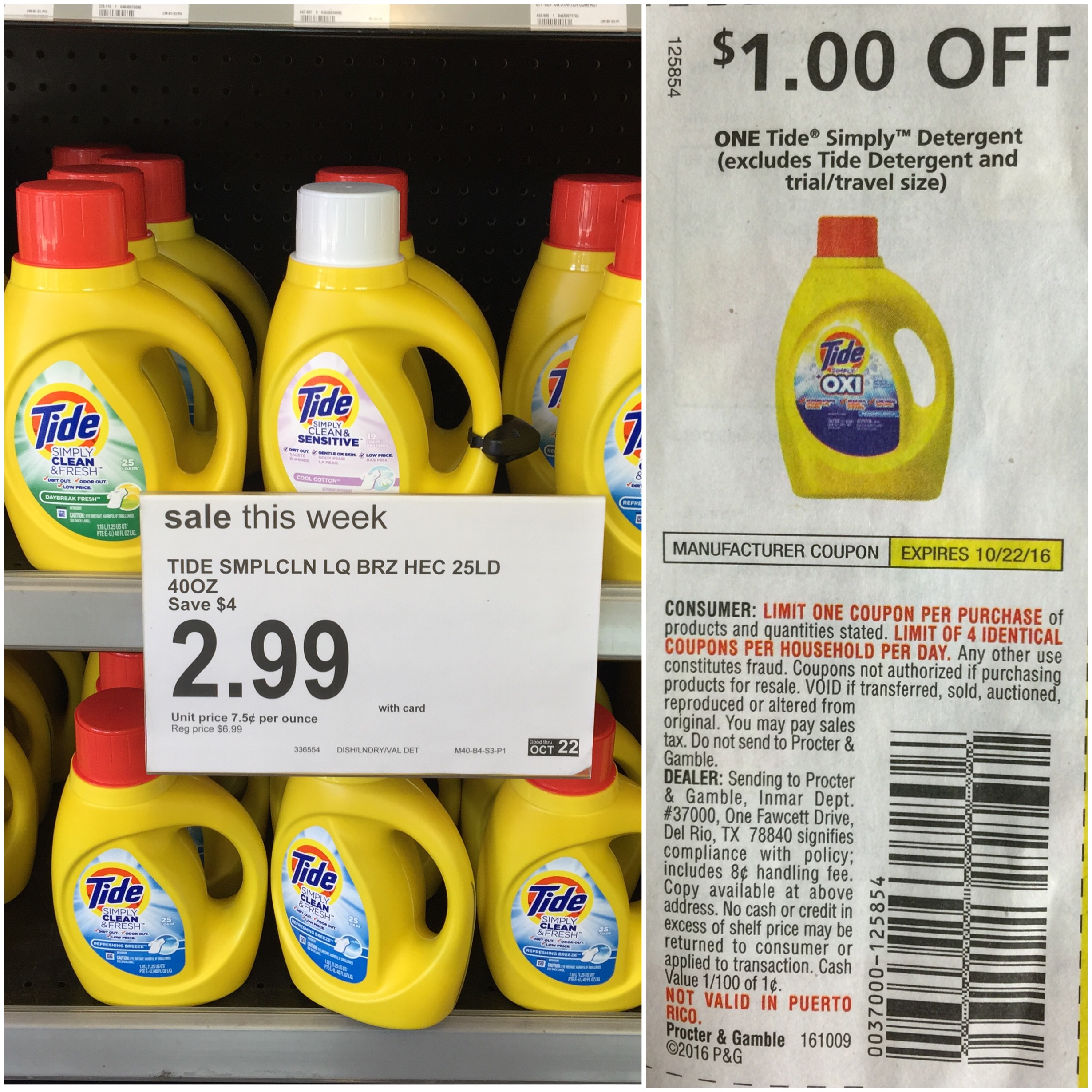 Free Printable Tide Simply Coupons | Download Them Or Print - Free Printable Tide Simply Coupons