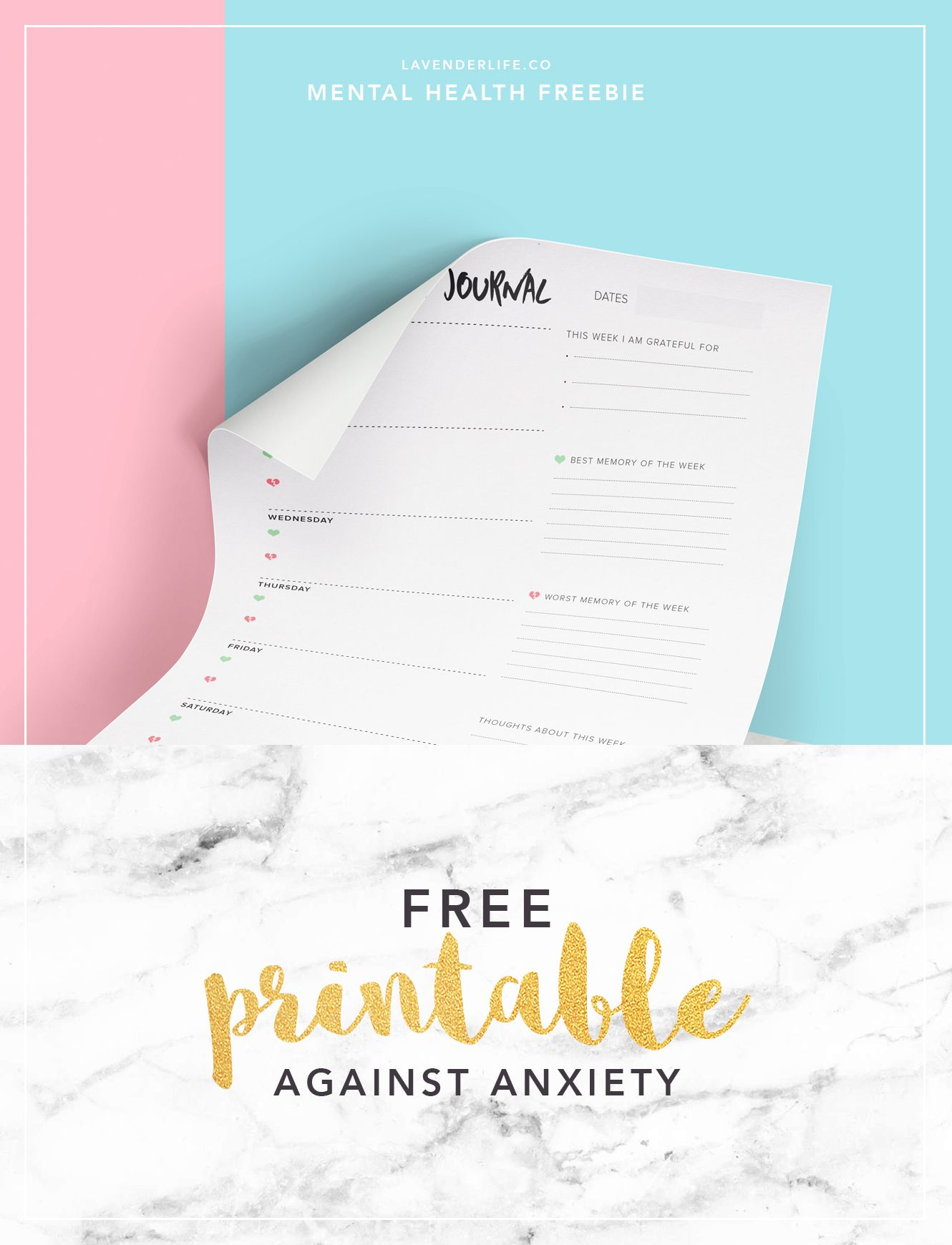 Free Printable To Help With Your Anxiety | Work Ideas | Pinterest - Free Printable Stress Test
