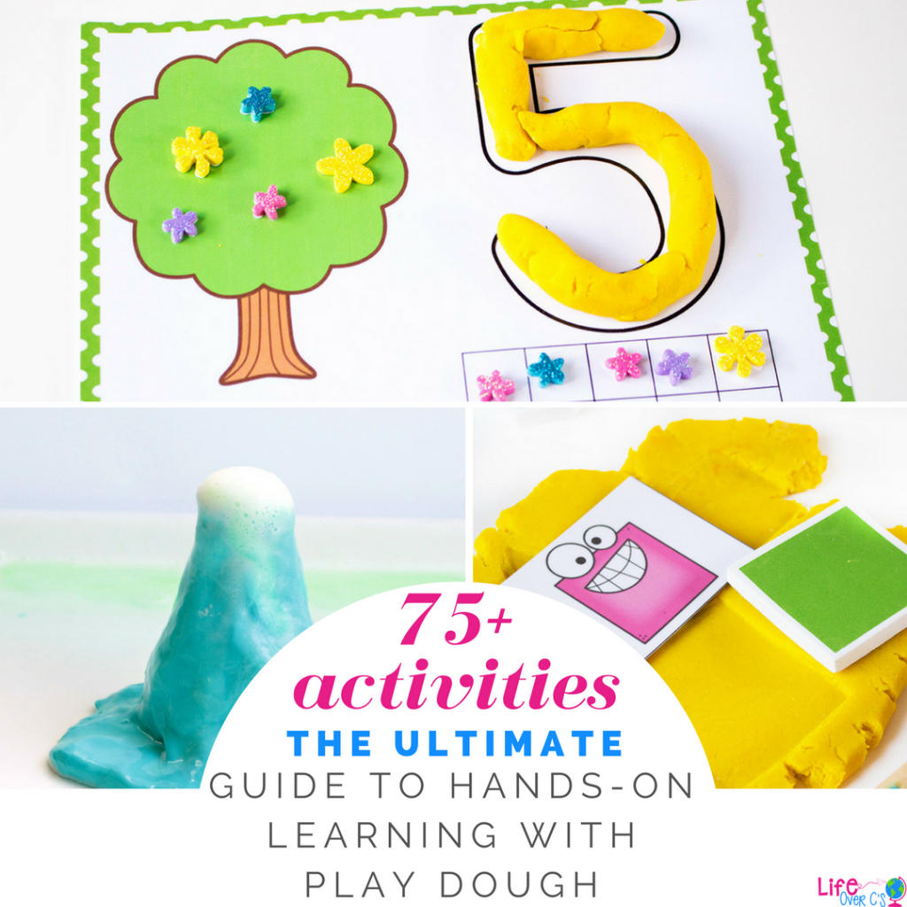Free Printable Tree Play Dough Counting Mats 1-10 - Free Printable Playdough Mats