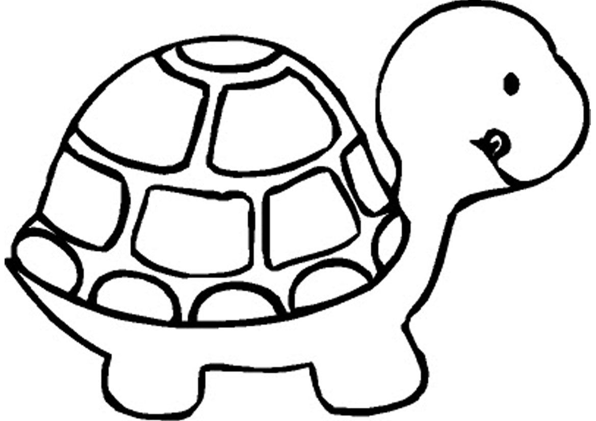 Free Printable Turtle Coloring Pages For Kids | Kuljit All - Free Printable Pages For Preschoolers