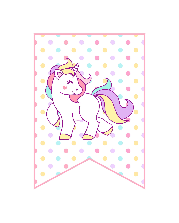 Free Printable Unicorn Party Decorations Pack - The Cottage Market - Unicorn Name Free Printable