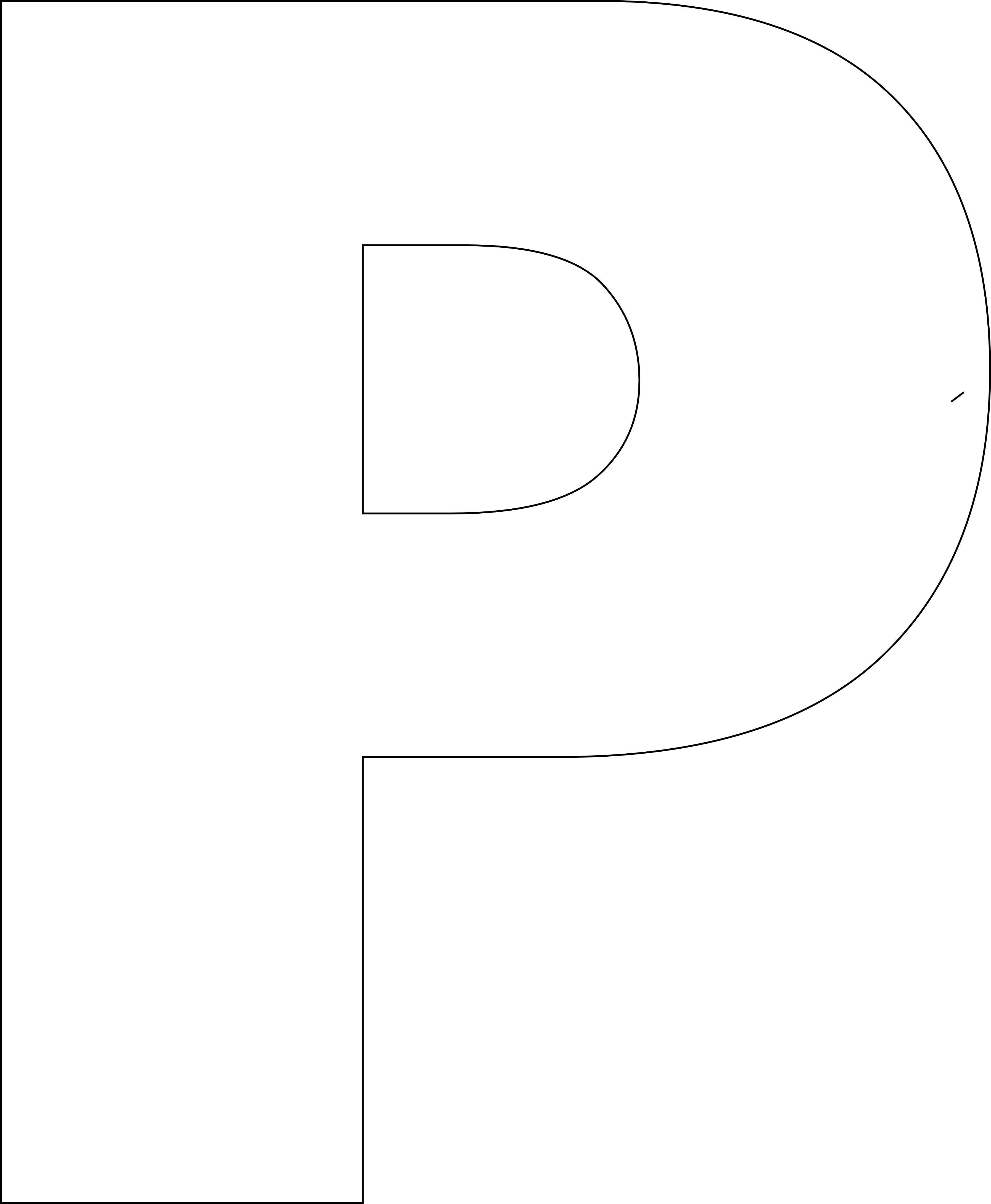 Free Printable Upper Case Alphabet Template | School Ideas - Free Printable Letter Templates