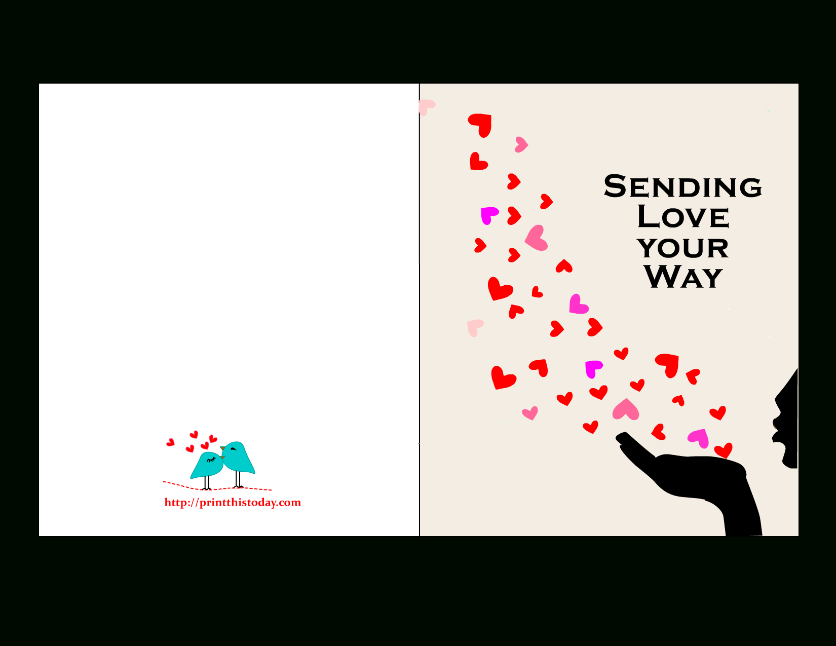 Free Printable Valentine Cards For Him | Free Printables For - Free Printable Love Cards