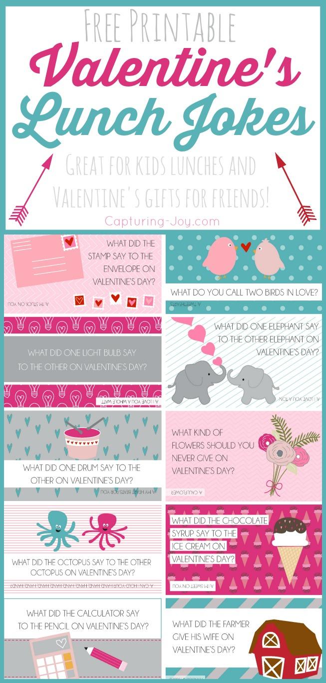 Free Printable Valentine Jokes - Capturing Joy With Kristen Duke - Free Printable Jokes For Adults