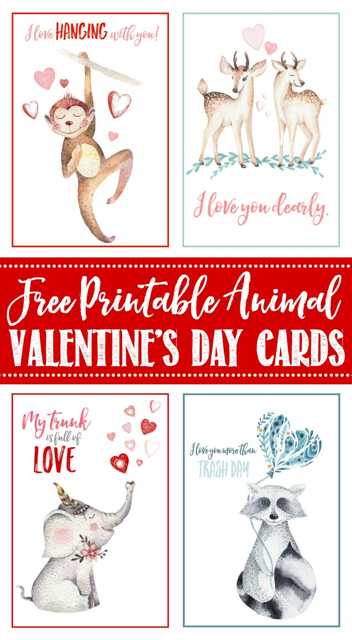 Free Printable Valentine's Day Cards And Tags - Clean And Scentsible - Valentine Free Printable Cards