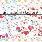 Free Printable Valentine's Day Cards For Kids – Free Printable Valentine Cards For Preschoolers