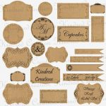 Free Printable Vintage Paper Label Tags | Halloween | Pinterest   Free Printable Vintage Labels