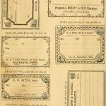 Free Printable Vintage Pharmacy & Apothecary Labels | The   Free Printable Vintage Labels