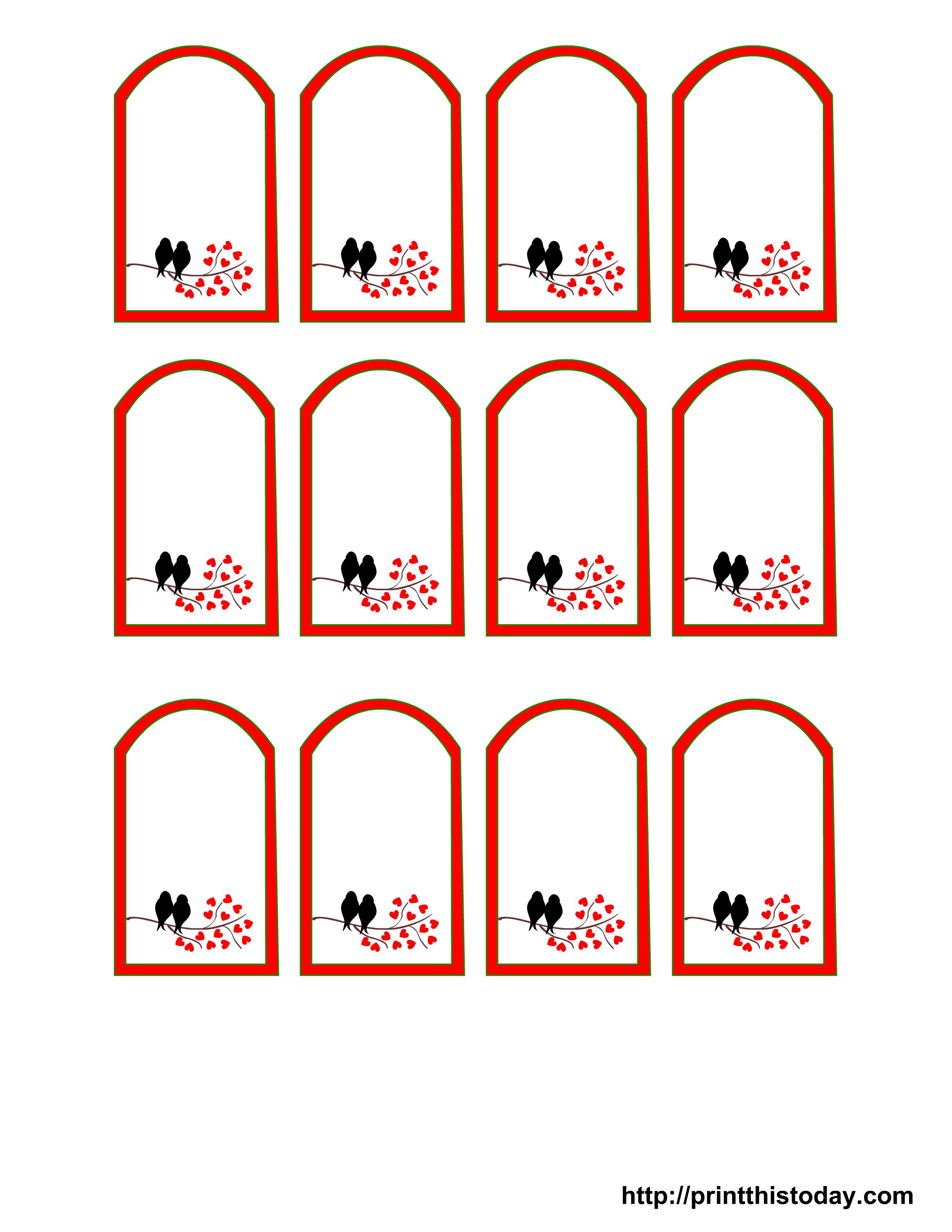 Free Printable Wedding Favor Tags - Free Printable Favor Tags